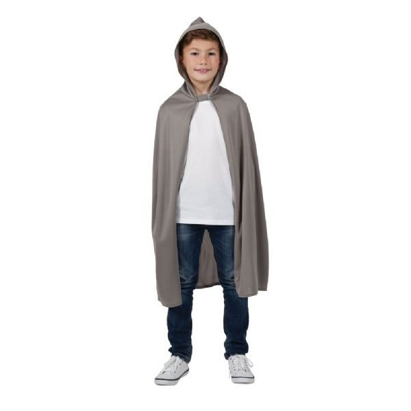 Childs Hooded Cape - Grey